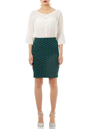 ESSENTIAL PENCIL SKIRT  P1901-0144