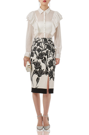 OFF DUTY/WEEK END PENCIL SKIRTS P1805-0025