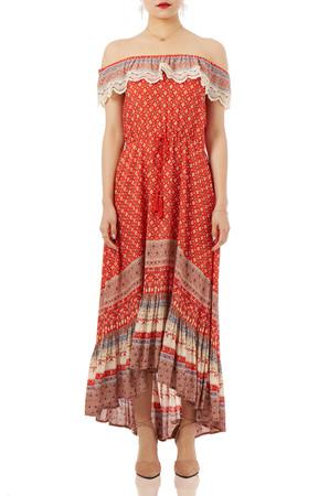 BOHEMIAN DRESSES P1710-0234