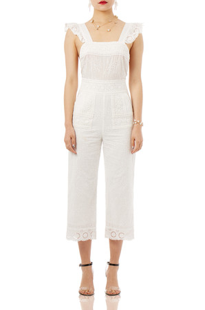 DAYTIME OUT WIDE LEG JUMPSUITS P1710-0225