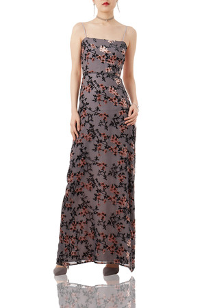EVENING SLIP DRESS P1711-0209