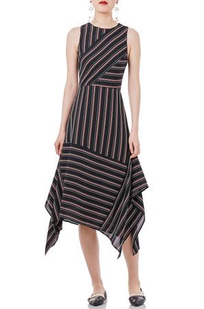 ASYMETRICAL TANK DRESS P1803-0065
