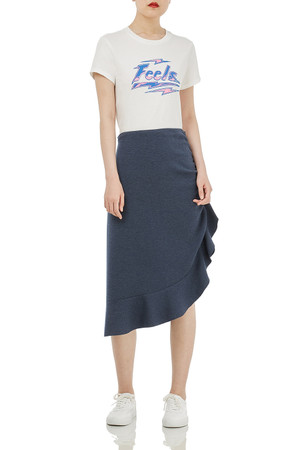 ASYMETRICAL PENCIL SKIRTS BAN1804-0625