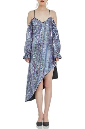 ASYMETRICAL DRESSES P1706-0096