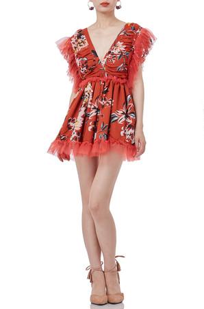 HOLIDAY TANK DRESS P1901-0152