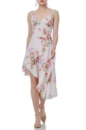 ASYMETRICAL SLIP DRESS P1812-0085