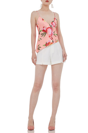 CAMISOLE WITH ASYMETRICAL HEM TOPS P1811-0180