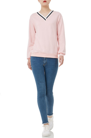 CASUAL PULLOVER TOPS PS1906-0100