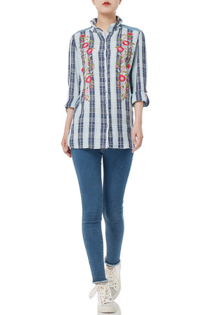 DAYTIME OUT SHIRT TOPS P1807-0237