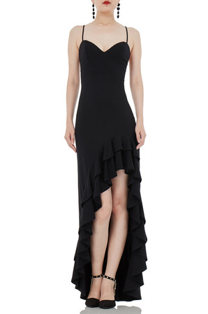 ASYMETRICAL SLIP DRESS P1809-0298