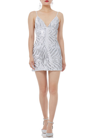 COCKTAIL SLIP DRESS P1810-0049