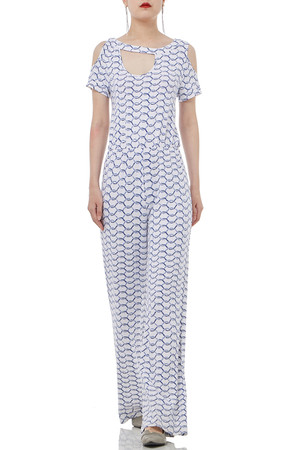 DAYTIME OUT CULOTTE JUMPSUITS PS1807-0028