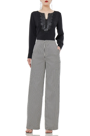DAYTIME OUT WIDE LEG PANTS P1903-0054