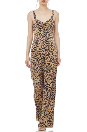 STRAP WITH LACE UP ON THE CHEST JUMPSUITS P1802-0136