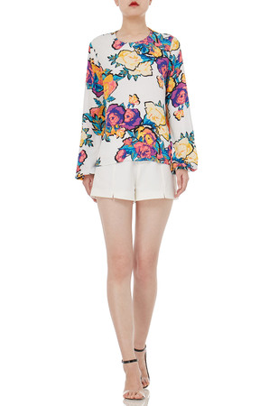 LONG SLEEVE ROUND TOPS P1611-0033
