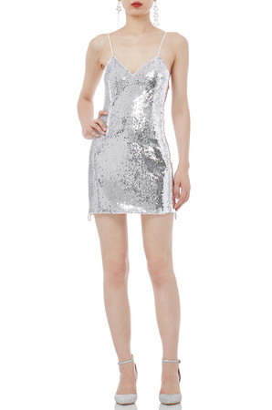 STRAP MINI LENGTH SLEEVELESS DRESSES P1804-0162