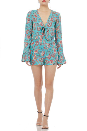 UNGE LACE UP  POET ROMPERS  P1906-0600
