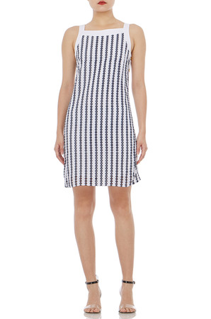 STRAP  CAMISOLE ABOVE-THE-KNEE LENGTH  DRESSES PS1807-0071