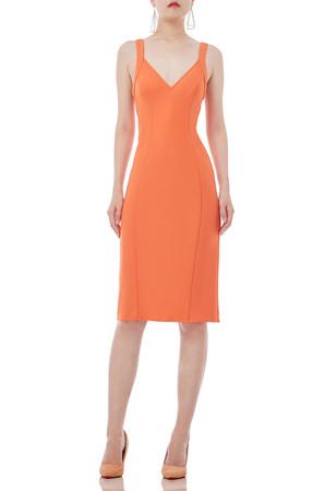 STRAP KNEE LENGTH DRESSES P1810-0208