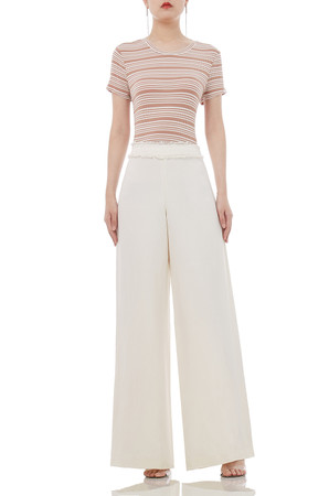 DAYTIME OUT WIDE LEG PANTS P1812-0014