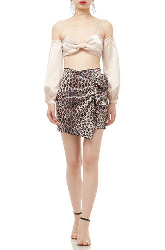 NORMAL WAISTED ASYMETRICAL SKIRT BAN1911-0374