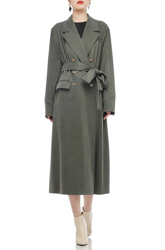BELTED MID LENGTH TRENCH COAT BAN2008-0431