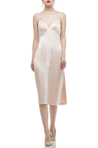CAMISOLE WITH SLIT ASIDE DRESS BAN2010-0521