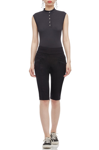 SLIM FIT ABOVE THE KNEE LENGTH SHORTS BAN2004-0088