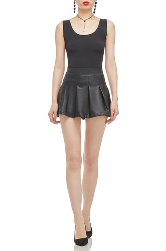 NORMMAL WAISTED PLETED SKIRT BAN2101-0527