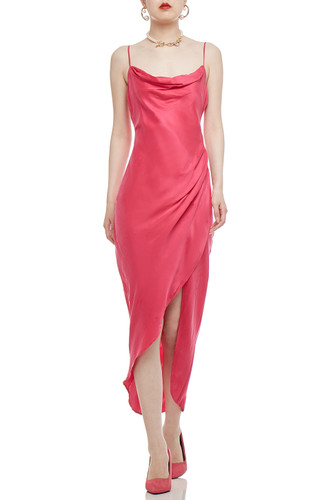 CAMISOLE WITH ASYMETRICAL HEM DRESS BAN2012-0769