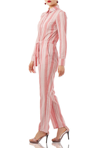 DAYTIME OUT SHIRT JUMPSUITS PS1710-0069
