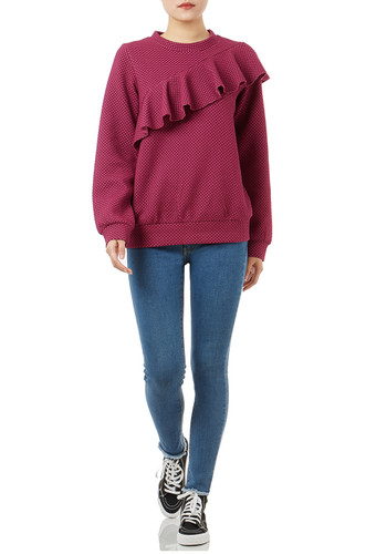 CASUAL PULLOVER TOPS P1808-0225