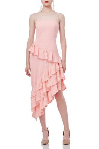 ASYMETRICAL SLIP DRESS P1810-0126
