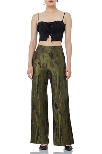 FASHION WIDE LEG PANTS IS1707-0076