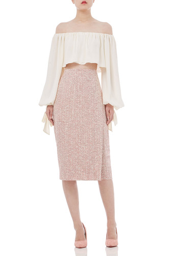 SOLID KNEE SKIRTS P1812-0013