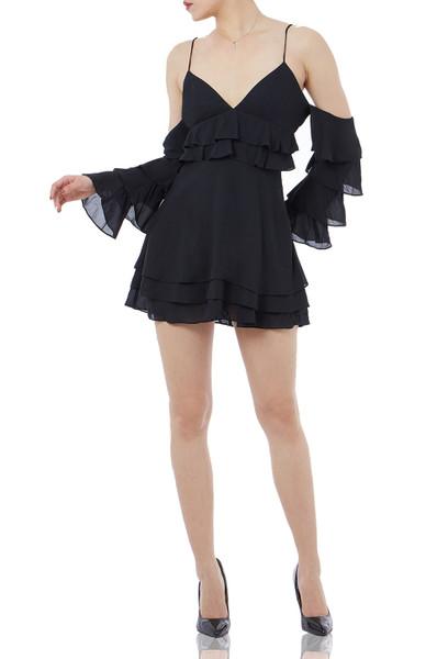 OFF DUTY/WEEK END SLIP DRESS BAN1711-0166