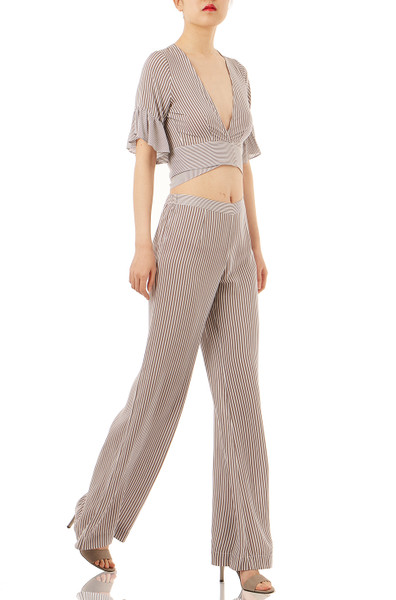 CASUAL WIDE LEG PANTS PS1709-0004