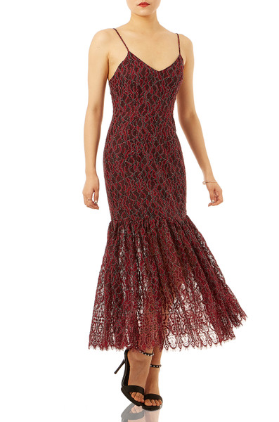 COCKTAIL SLIP DRESS P1710-0128