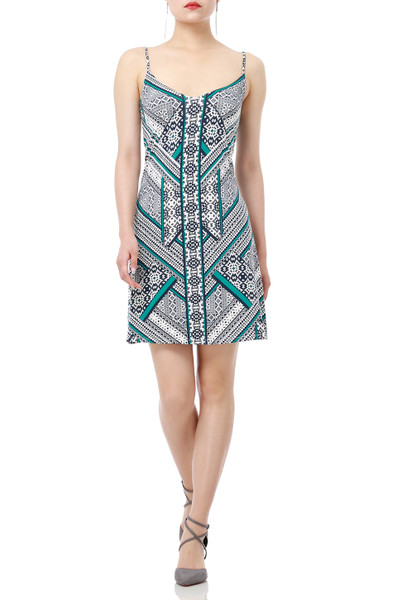 BOHEMIAN SLIP DRESS DRESSES P1811-0005