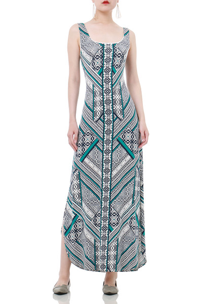BOHEMIAN TANK DRESS DRESSES P1811-0008