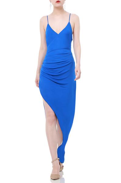 ASYMETRICAL SLIP DRESS P1809-0337
