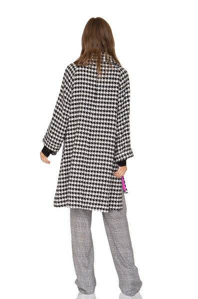 OFF DUTY/WEEK END OVERCOAT  CC1905-0834-PBW POLYESTER