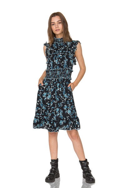 HOLIDAY TANK DRESS DRESSES CC1905-1013-SP SILK MSRP $428