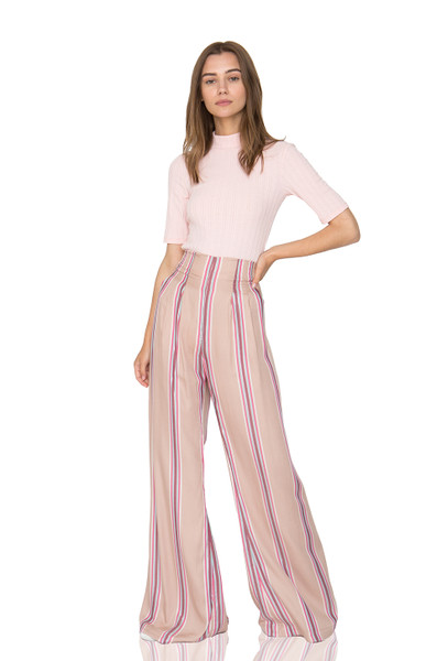 DAYTIME OUT WIDE LEG PANTS CC1905-1152-RB RAYON