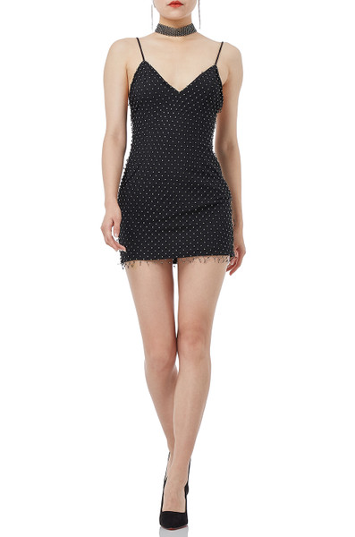 NIGHT OUT SLIP DRESS DRESSES IS1809-0320 FALSE MSRP $198