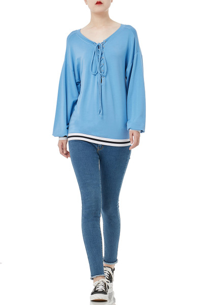 ATHLEISURE PULLOVER TOPS PS1906-0094