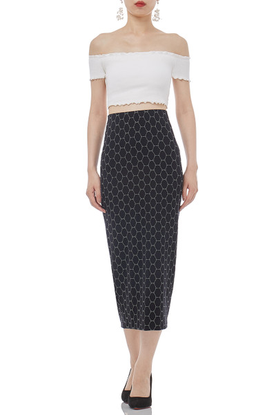 DAYTIME OUT PENCIL SKIRT  P1812-0007