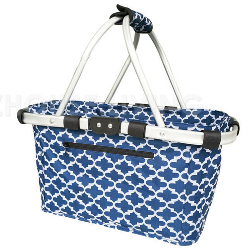 Carry Basket Moroccan Navy Sachi