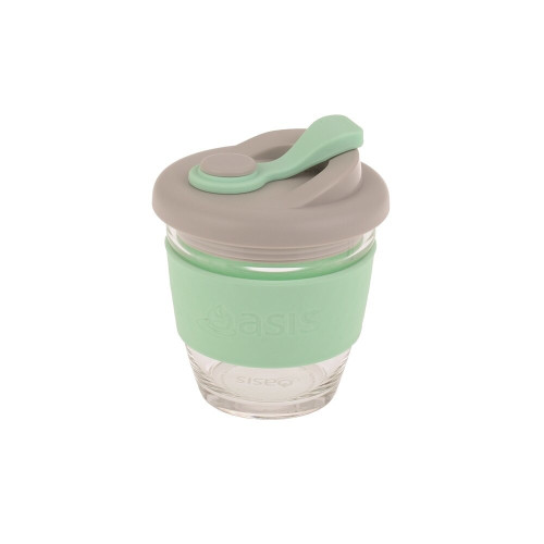 Eco Cup Glass Mint 227ml Oasis
