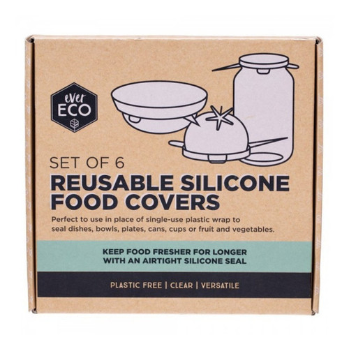 Food Covers Silicone Set of 6 Ever Eco
